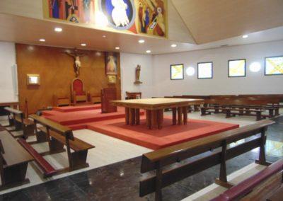 Reforma interior del templo